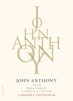 2014 John Anthony Coombsville Vineyard Cabernet Sauvignon 750 mL