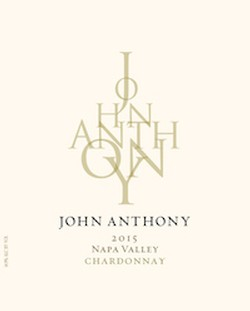 2015 John Anthony Napa Valley Chardonnay 750 mL