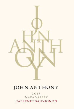 2015 John Anthony Napa Valley Cabernet Sauvignon 750 mL Image