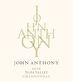 2016 John Anthony Napa Valley Chardonnay 750 mL