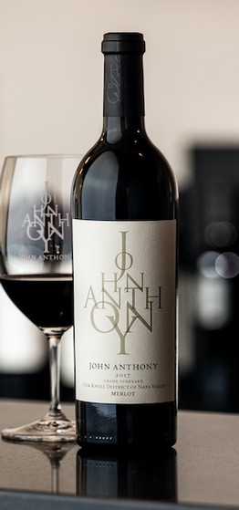 2017 John Anthony Crane Vineyard Merlot 750 mL