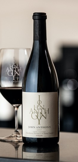 2017 John Anthony Crane Vineyard Syrah 750 mL
