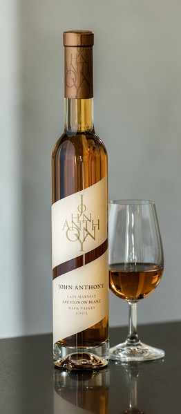 2005 John Anthony Late Harvest Sauvignon Blanc 375mL
