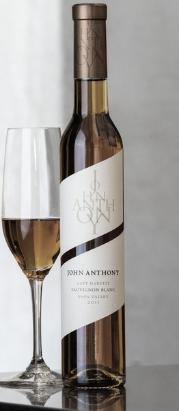 2011 John Anthony Late Harvest Sauvignon Blanc 375 mL