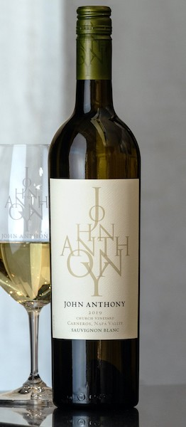 2019 John Anthony Church Vineyard Sauvignon Blanc 750 mL
